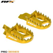 New Yellow Wide Footpegs Pegs Suzuki RMZ 250 07-09 RMZ 450 05-07 Motocross